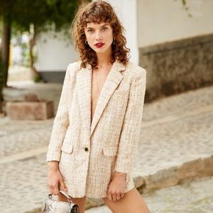 The Kooples tweed blazer